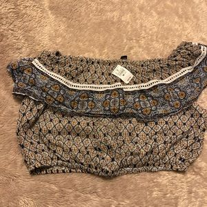 Crop top/ sleeveless, multi color